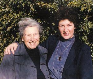 Fran and Gertrude